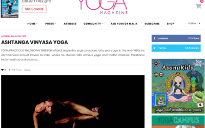 Gregor Maehle in YOGA Magazine